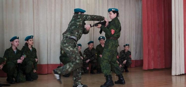 Открытое заседание военно-патриотического клуба «Витязь»