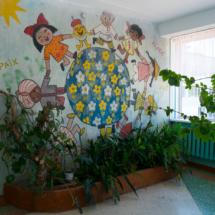 Картина на стене возле кабинета 204