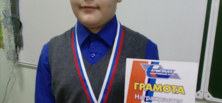 Поздравляем Виктора Сидоренко с победой