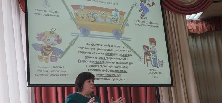 24 апреля 2018 состоялся семинар «Реализация воспитательного проекта через детскую организацию «Школьный корабль»