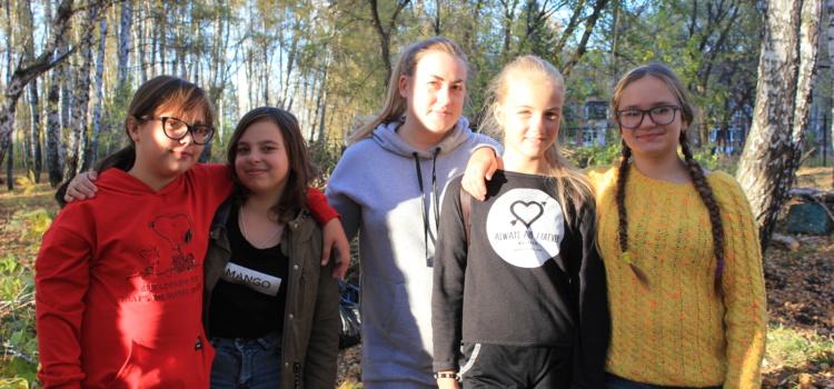 Ученики 6 «Г» приняли участие в волонтерском движении нашего города