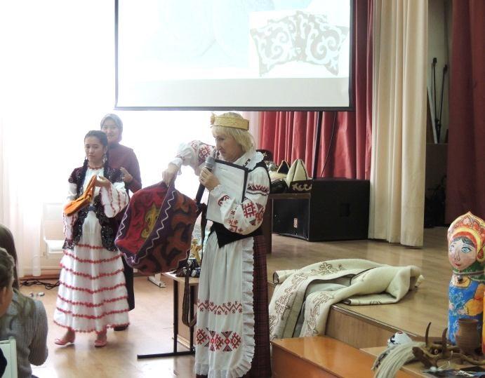 Этнокультурные игры «Этническая мозаика»