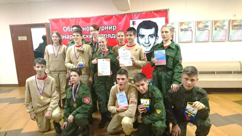 Слет военно-патриотических клубов и юнармейских отрядов города Бердска.