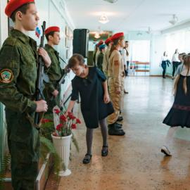 1 февраля состоялось открытие месячника гражданственности и патриотизма