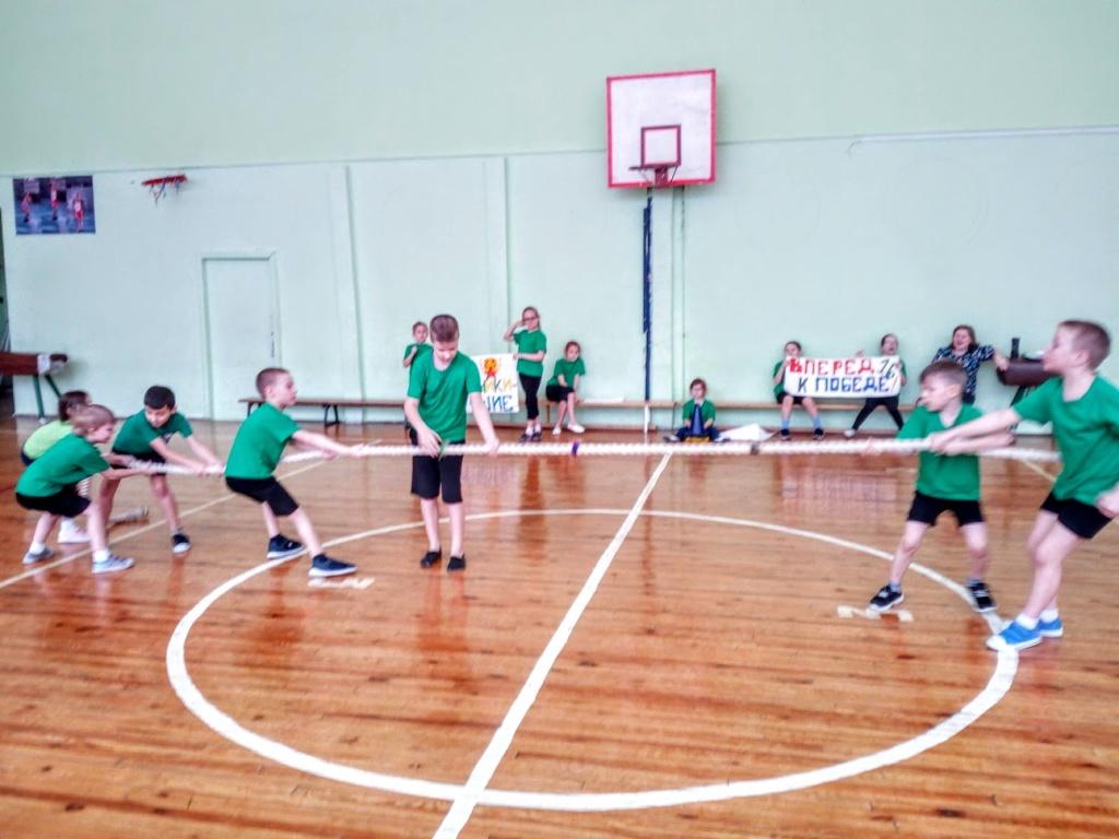 Школьный этап «Президентских спортивных игр» в 2018-2019 учебном году
