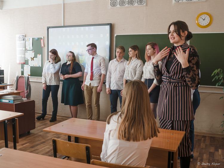 Открытое занятие с обучающимися для педагогов-психологов города «Playback-театр»