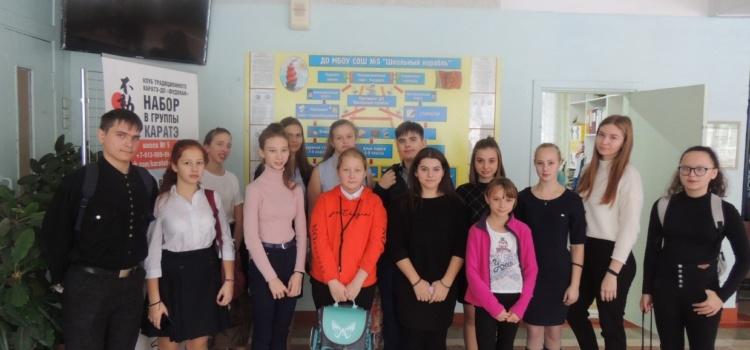 Новый  Президент ДО  «Школьный  корабль» вступил в должность