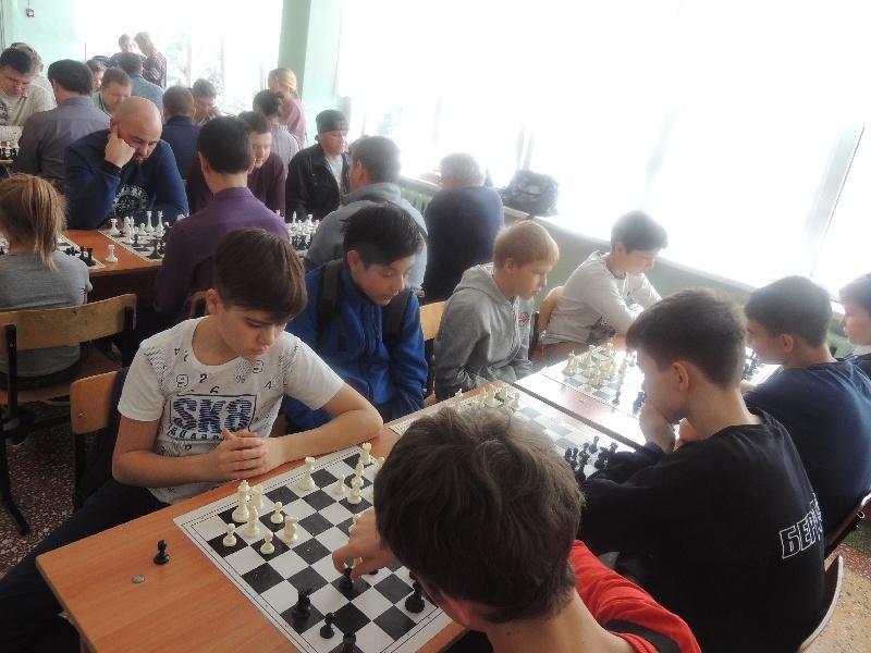 2-ой общешкольный шахматный турнир