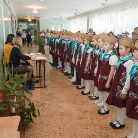Смотр – конкурс строя и песни, посвященный Дню Защитника Отечества