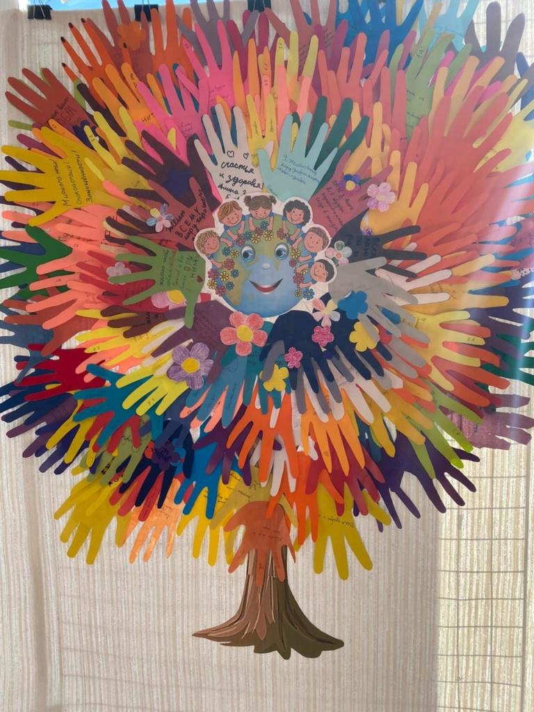 Общешкольная акция «Дерево мира»