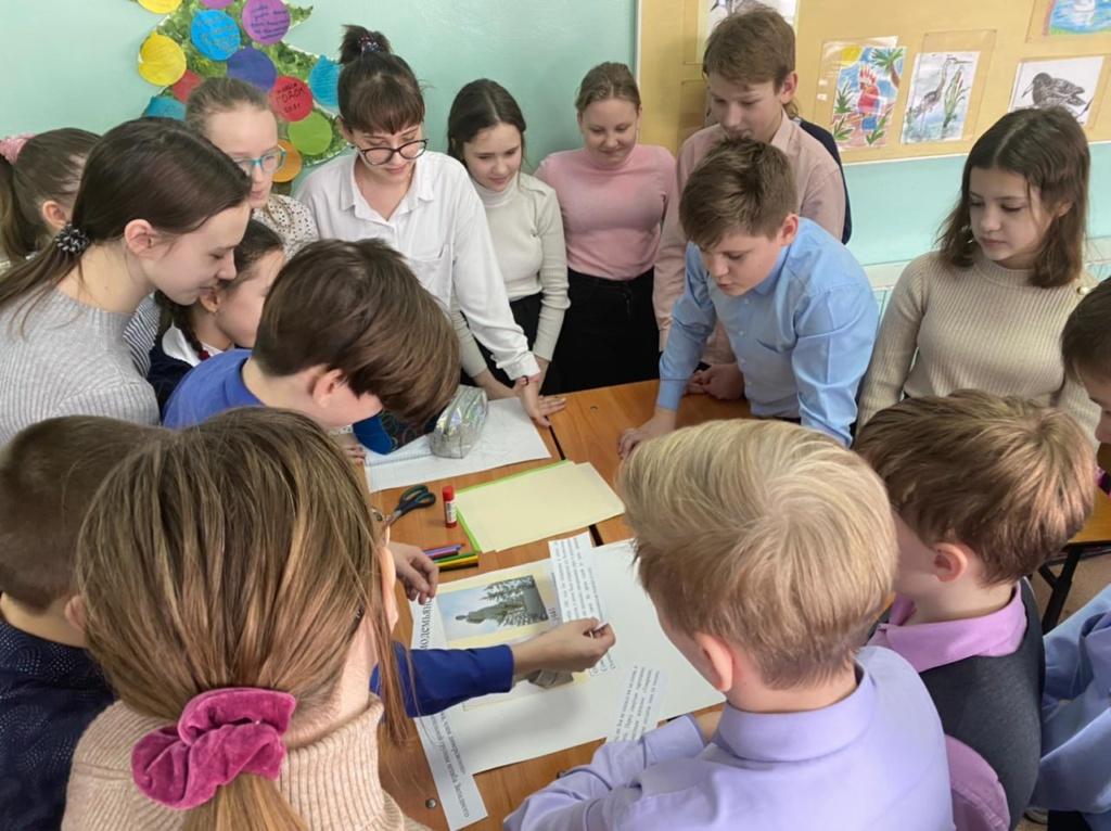 Уроки Мужества «Помним Героев» в 5-6 классах МБОУ СОШ № 5