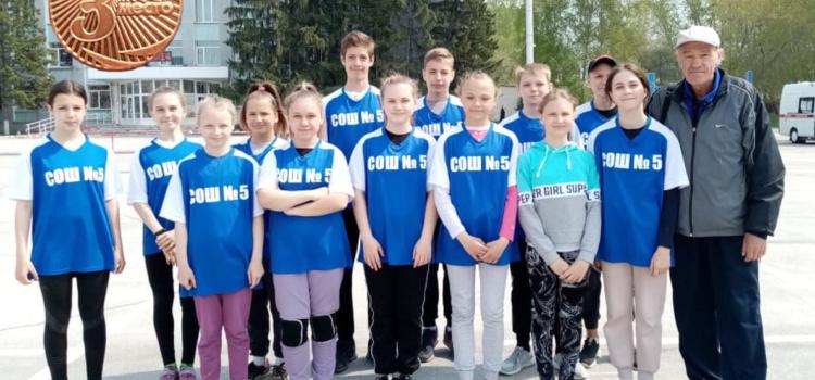 58 Легкоатлетическая эстафета в честь 76 годовщине Великой Победы