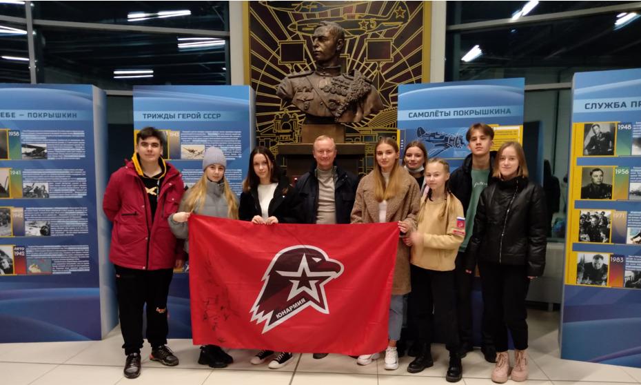 Наши юнармейцы покоряют Москву!